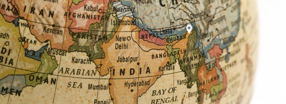 Map india site Assam