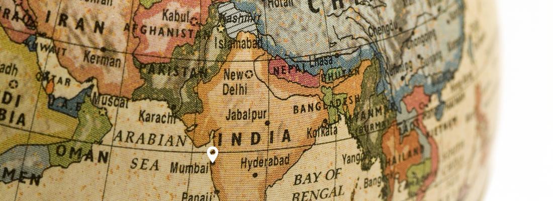 Map india site Mumbai